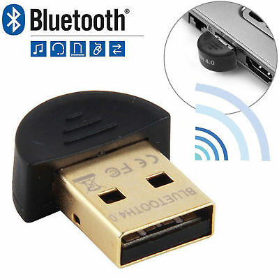 Bluetooth 4.0 USB 2.0 CSR4.0 Dongle Adapter For PC Laptop WIN XP VISTA 7 8 10 US