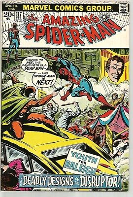 AMAZING SPIDER-MAN #117    Beautiful Early Silver Age Nice VF/NM9.0