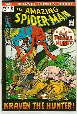 AMAZING SPIDER-MAN #104    Beautiful Early Silver Age Nice VF8.0 to VF8.5