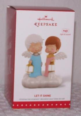 2015 Hallmark Ornament - Mary's Angels - Let It Shine - with Light & Sound