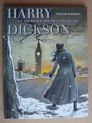 Harry Dickson T9 - Le secret de Raspoutine - Soleil - EO - TBE