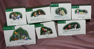 7 North Pole Series Department 56 - Fillers & Flakers + Ski Bums + Good Spot +