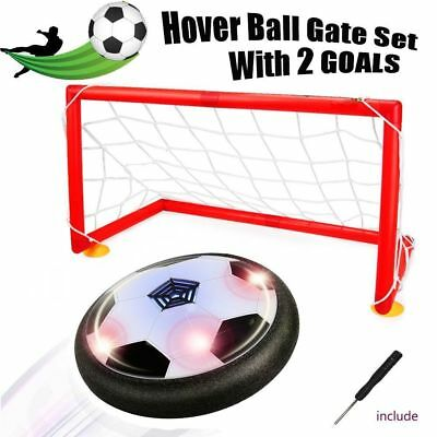 [Upgraded]Hover ball - Bdwing Kids Toys Soccer Goal Set, Size 4 Air Power Soccer