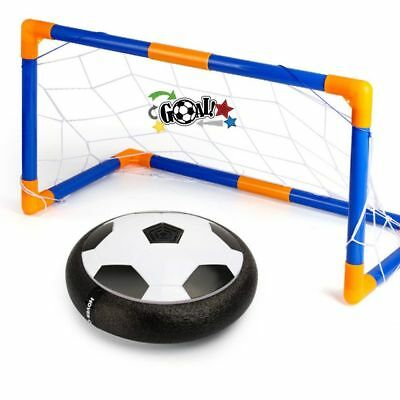Hover Ball Soccer Goal Set, Indoor & Outdoor Sports Game Play Hover Football Gat