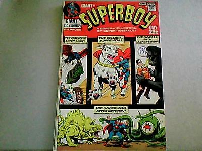"SUPERBOY # 174 80pg Giant ""Superboy's Super-Pets""  EARLY BRONZE AGE (1971)"