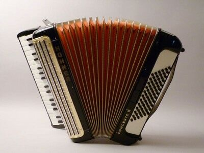 vintage HOHNER AKKORDEON  Concerto III  accordion black                     (mo)