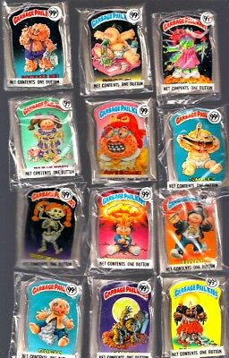 1986 Garbage Pail Kids Buttons (12)