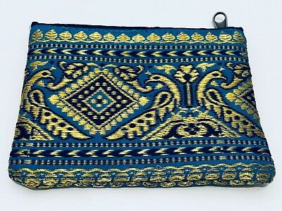 Coin and Card purses Vintage style made from sari material (100% Handmade)