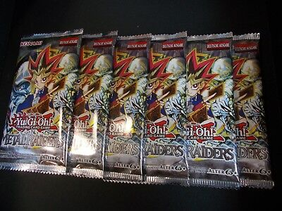 6x METAL RAIDERS  BOOSTER YU GI OH DEUTSCH!!! ovp unsearched!