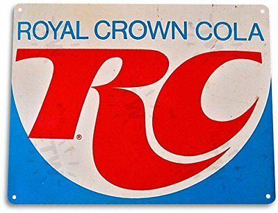 RC Cola Royal Crown Vintage Tin Metal Sign