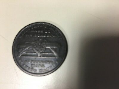 1834 Hard Times Token Woodworth's Patent