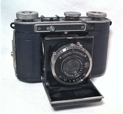 Certo Dollina Compact Folding 35Mm W/ Cassar 5Cm (50Mm) 2.9 On Compur Shutter