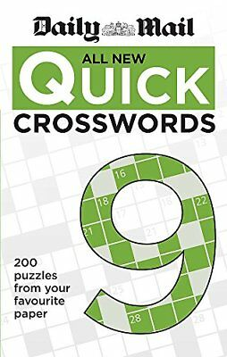 Daily Mail All New Quick Crosswords 9-Daily Mail