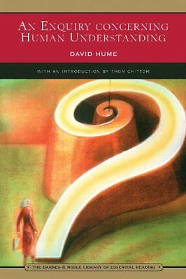 An Enquiry Concerning Human Understanding-David Hume