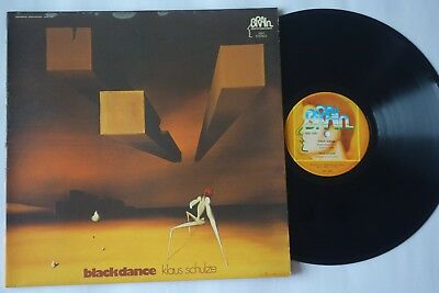 Klaus Schulze Blackdance Vinyl LP Brain1051 1974
