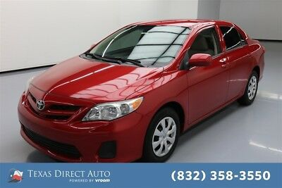 Toyota Corolla L 4dr Sedan Texas Direct Auto 2013 L 4dr Sedan Used 1.8L I4 16V Automatic FWD Sedan