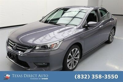 Honda Accord Sport Texas Direct Auto 2015 Sport Used 2.4L I4 16V Automatic FWD Sedan