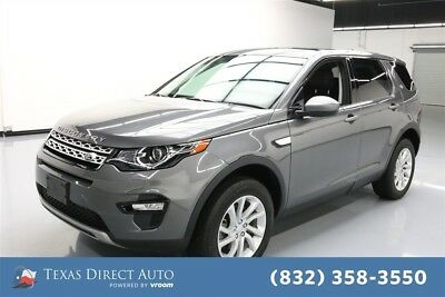 Land Rover Discovery Sport HSE Texas Direct Auto 2016 HSE Used Turbo 2L I4 16V Automatic 4WD SUV Moonroof