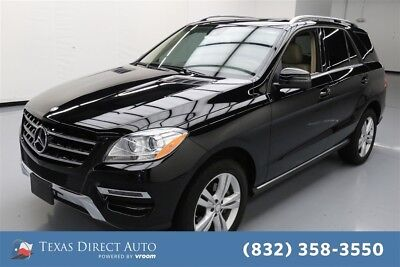Mercedes-Benz M-Class ML 350 Texas Direct Auto 2015 ML 350 Used 3.5L V6 24V Automatic AWD SUV Premium