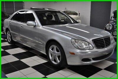 Mercedes-Benz S-Class ONLY 68,868  MILES - CERTIFIED CARFAX - DEALER MAINTAINED 2005 S430 - AMAZING CONDITION - DESIRABLE COLORS - like s500 s55 s550