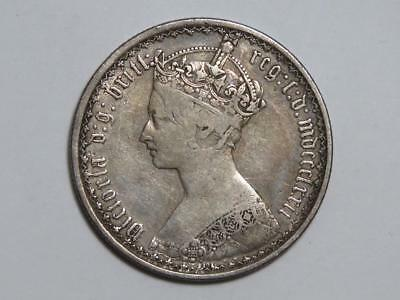 1872 Great Britain One Florin - Two Shillings