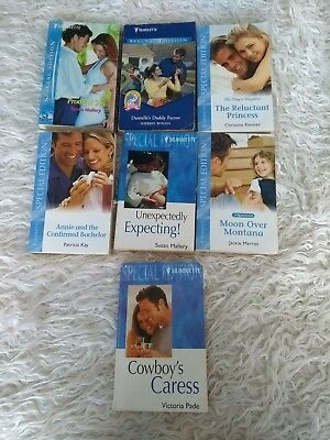 Job Lot Of 7 Silhouette Books Special Edition Like Mills And Boon