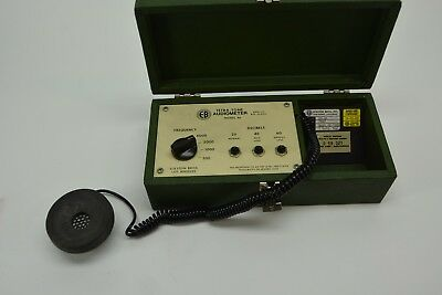 Vintage Eckstein Brothers Model 46 Audiometer, with headset and new battery