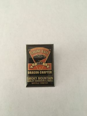K8) Harley-Davidson HOG 2006 Owners Group Swine Ball Tennessee Motorcyle Pin *