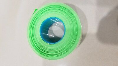 Genuine Garvey Labels For Price Gun 22-6 22-7 22-8 Green Fluorescent 1 Roll