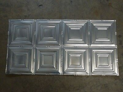 12-04 Turn of the Century Design (10) TEN 2' x 4' Tin Plated Steel Sheets. WoW!