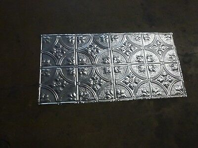 12-09 Victorian Design (10) TEN 2' x 4' Tin Plated Steel Sheets. WoW!