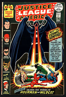 Justice League Of America #96 , Feb 1972, Neal Adams Cover, Glossy Cents Copy!
