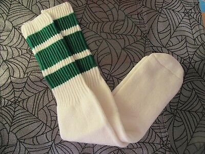 Vintage Men's Tube Socks Sports Socks Green