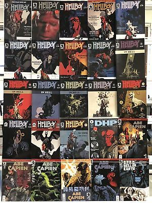 Hellboy Comics Huge Lot 25 Comic Book Collection Set Run Books Box 2