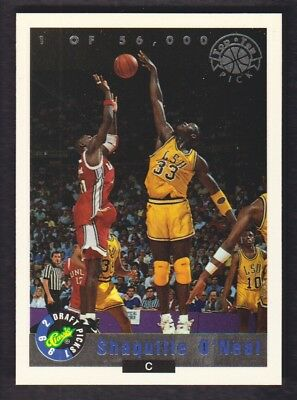 1992 Classic Pallacanestro Lps #LP1 Shaquille o' Neal Lsu Tigers