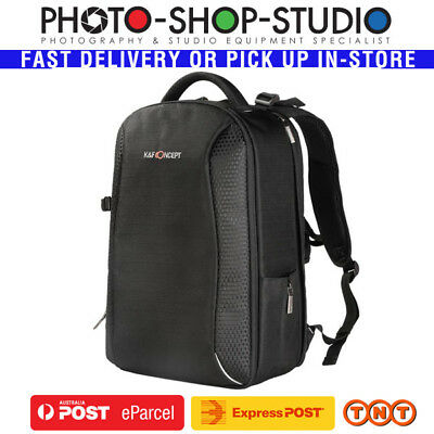 K&F Concept KF13.083 Classic DSLR Camera Outdoor Travel Backpack (XL, Black)