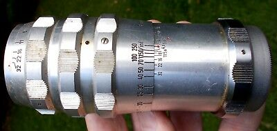 Vintage A. SCHACHT Munchen TRAVEGON ~ CAMERA LENS ~ 4.5/135mm  57534