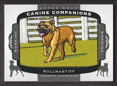 2017 Upper Deck Goodwin Champions Hund Campanions #CC46 Bullmastiff Working