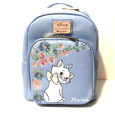 Loungefly Disney Aristocats Marie Periwinkle Mini Backpack