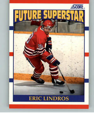 1990-91 Score Hockey Future Superstar #440 Eric Lindros Rookie RC