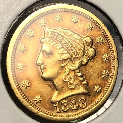 1848-D Dahlonega Gold $2.50 Quarter Eagle. *Collectible In United States. Great!