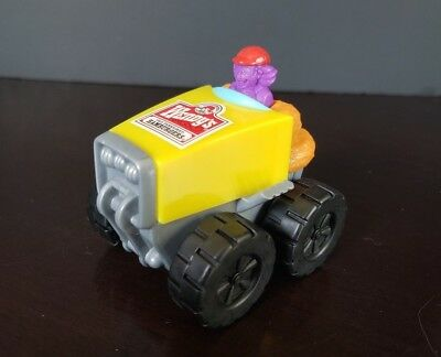 *VINTAGE* 1999 WENDYS CHICKEN NUGGETS MONSTER HOT ROD TOY VEHICLE Kids Meal Trck