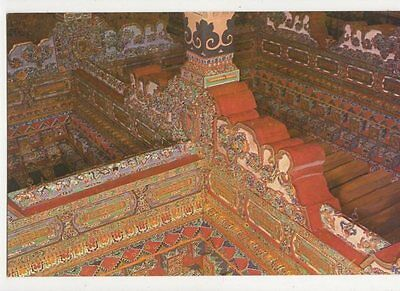 Beams With Carved Designs China Postcard 076a