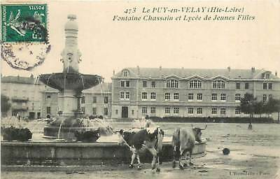 43* LE PUY EN VELAY fonyaine - lycee - vaches                 MA78-0764