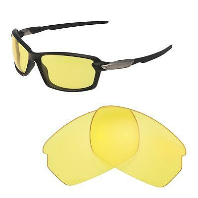 2da7b41617a Walleva Yellow Non-Polarized Replacement Lenses For Oakley Carbon Shift