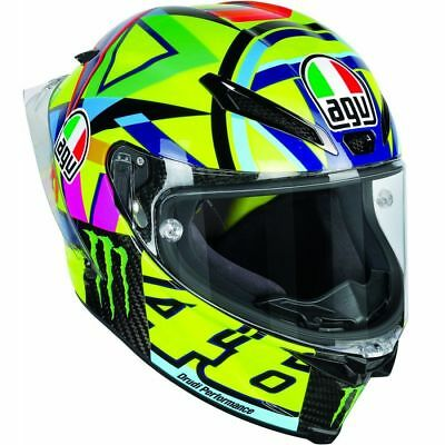 Agv Gp R Pista Sole luna Top Rossi Size L 60 61 New Helm