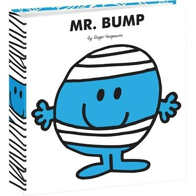 "Mr Men Photo Album Mr Bump 6""x 4""/10x15cm Slipin Memo Photo Album 140 Photos"