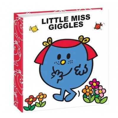 "Mr Men Photo Album Miss Giggles 6""x 4""/10x15cm Slipin Memo Album 140 Photos"