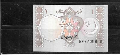 Pakistan 1983 Rupee Uncirculated Old Vintage Banknote Paper Money Currency  Note