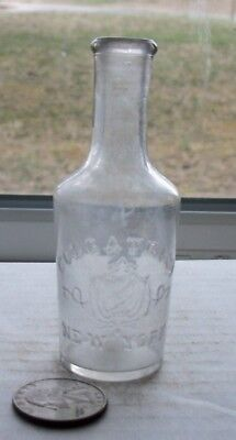 Nice Victorian Bottle Embossed, Colgate & Co, New York